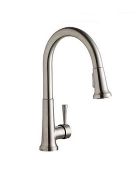 Elkay LK6000LS Everyday Single Handle Pull Down Kitchen Faucet - Lustrous Steel