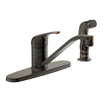 Estora 200-51330-BB Avio Single Handle Kitchen Faucet - Brushed Bronze