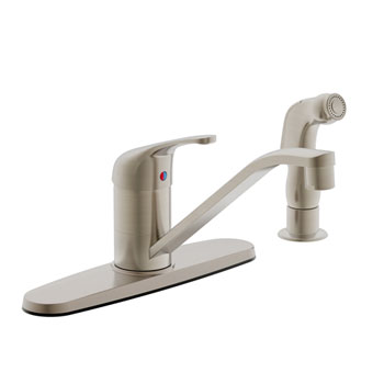 Estora 200-51330-BN Avio Single Handle Kitchen Faucet - Brushed Nickel