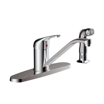 Estora 200-51330 Avio Single Handle Kitchen Faucet - Chrome