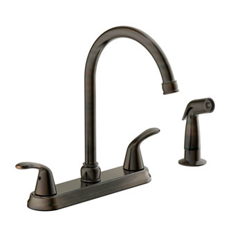 Estora 220-52335-BB Tavianno Two Handle Kitchen Faucet - Brushed Bronze