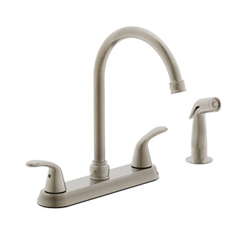 Estora 220-52335-BN Tavianno Two Handle Kitchen Faucet - Brushed Nickel