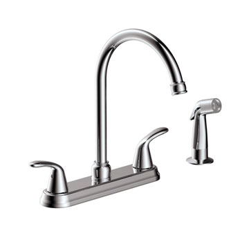 Estora 220-52335 Tavianno Two Handle Kitchen Faucet - Chrome
