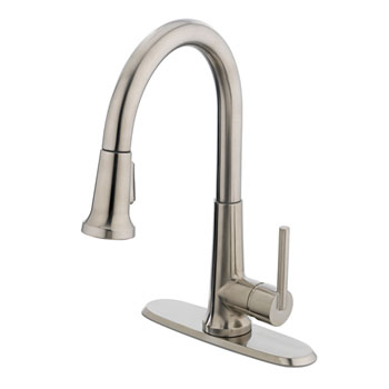 Polished Nickel Kitchen Faucets