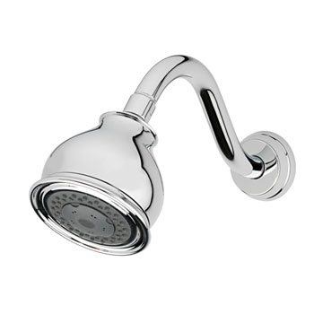 Estora 62-90015 2.5 GPM Single Function Shower Head - Chrome