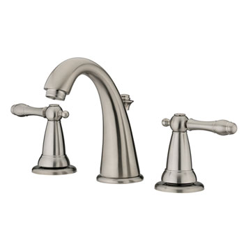 Estora 80-62521-BN Varese Two Handle Widespread Lavatory Faucet - Brushed Nickel