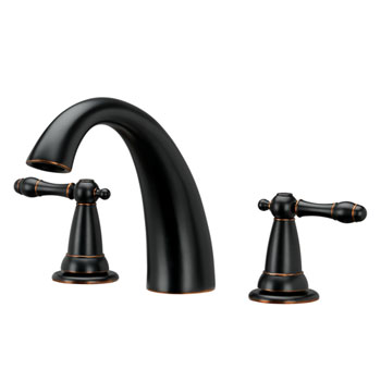 Estora 80-82011-BB Varese Two Handle Roman Tub Faucet - Brushed Bronze