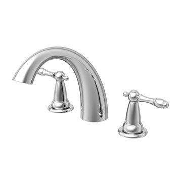 Estora 80-82011 Varese Two Handle Roman Tub Faucet - Chrome