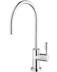 Everpure EV9970-58 F-Designer Series Single Temperature Drinking Water Faucet - Bright Black (Pictured in Chrome)