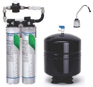 Everpure ev9273 85 rom ii reverse osmosis system for Everpure water treatment system