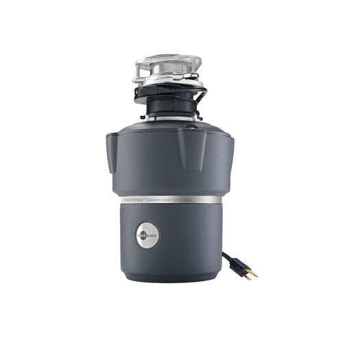 InSinkErator Evolution Cover Control Plus 3/4 HP Garbage Disposal with Power Cord