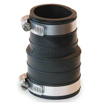 Fernco 1059 150 1 1 2 In Flexible Coupling Pvc Socket To