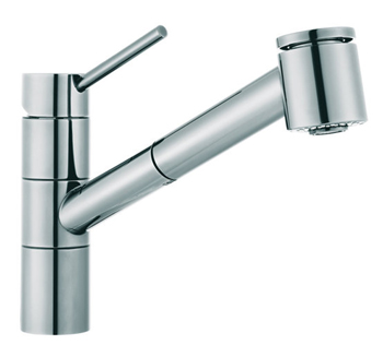 Franke FF2000 Faucets 2000 Series Pull-Out Kitchen Faucet - Polished Chrome