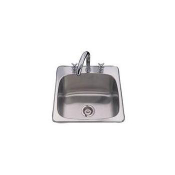 Franke SL103BX 3-Hole Kitchen Sink Drop-in - Stainless Steel