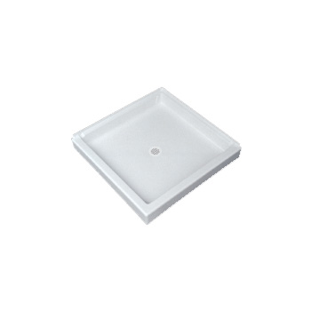 Florestone Saflor 3636-2 Corner Shower Receptor - White