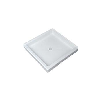 Florestone Saflor 3636 2 Corner Shower Receptor White