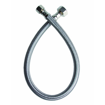 Fluidmaster B1F16 Faucet Connector - Braided Stainless Steel