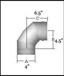 FasNSeal 90 Degree Elbow - FSELB9004