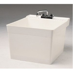 Fiat L-1 Wall Hung Service Sink - White