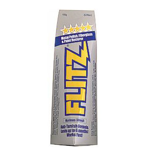 Flitz Metal Polish & Paint Restorer - 1.76 oz (50 gr)