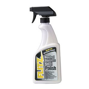 Flitz Stainless Steel & Chrome Polish - 16 oz (473 ml)