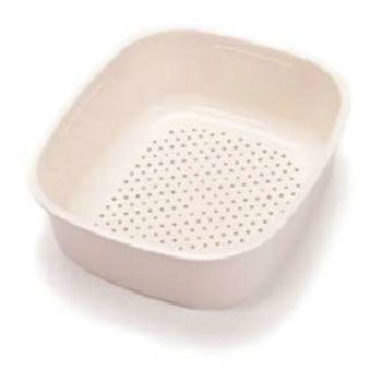 CP-80W Franke Double and Triple Undermounts/Elements Small Colander - White