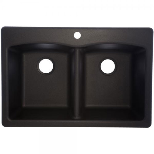 Franke Edox33229 1 Double Bowl Composite Kitchen Sink