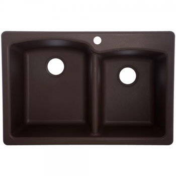 Franke White Composite Sink : Franke EODB33229-1 Double Bowl Composite Kitchen Sink - Mocha ...