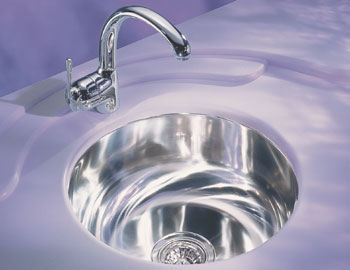 Franke ERX-110 Elements Undermount Sink Stainless Steel