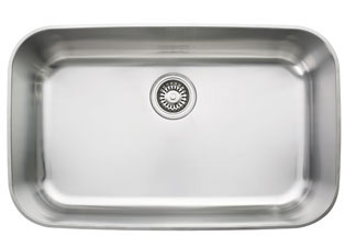 franke oax110 oceania single bowl undermount stainless steel kitchen sink - Frank Kitchen Sink