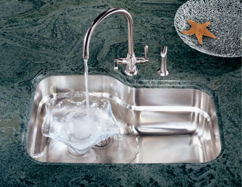 Franke ORX-110 Orca Single Bowl Undermount Stainless Steel Kitchen Sink
