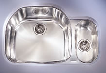 Franke PRX-160-RH Double Bowl Undermount Stainless Steel Kitchen Sink