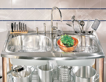 Franke PRX-720C Magnum Drop-In Stainless Steel Kitchen Sink