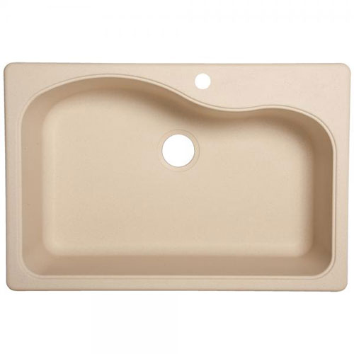 Franke SC3322-1 Single Bowl Kitchen Sink Composite - Champagne