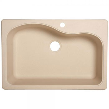 Franke White Composite Sink : Franke SC3322-1 Single Bowl Kitchen Sink Composite - Champagne ...
