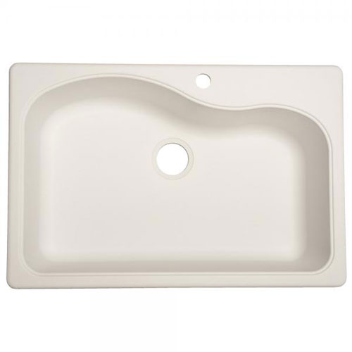 Franke SP3322-1 Single Bowl Kitchen Sink Composite - White