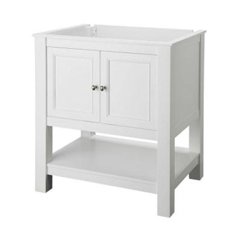 Foremost GAWA3022 Gazette 30 in. Vanity Cabinet Only - White