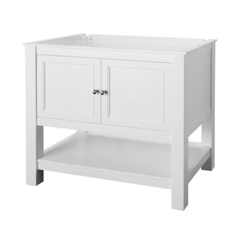 Foremost GAWA3622 Gazette 36 in. Vanity Cabinet Only - White