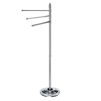 Gatco 1354 3-Arm Floor Towel Stand - Chrome