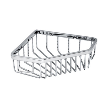Gatco 1499 Shower Corner Basket - Chrome