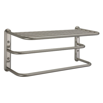 Gatco 1541SN Forged Brass Towel Rack - Satin Nickel