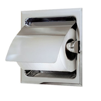 Gatco 785 Toilet Paper Holder with Cover - Chrome