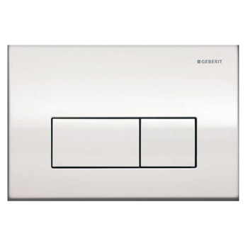 Geberit 115.260.21.1 Kappa50 Dual-Flush Actuator - Polished Chrome