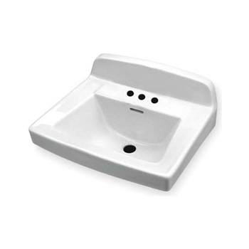 Gerber 12-654 Wall Hung Bathroom Sink - White