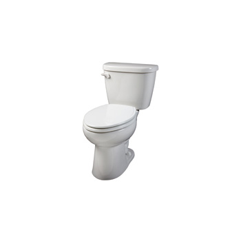Gerber 21 912 Maxwell Elongated 2 Piece Toilet White