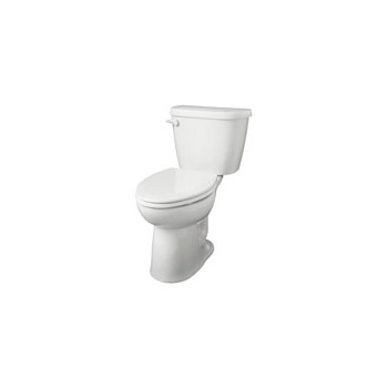 Gerber 21-918 Maxwell ErgoHeight Elongated 2 Piece Toilet - White