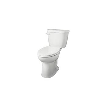 Gerber 21 918 Maxwell Ergoheight Elongated 2 Piece Toilet