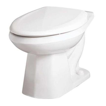 Gerber He 21 372 Elongated Toilet Bowl Ultra Flush White