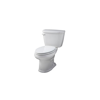 Gerber VP-21-512 Viper Elongated 2 Piece Toilet - White