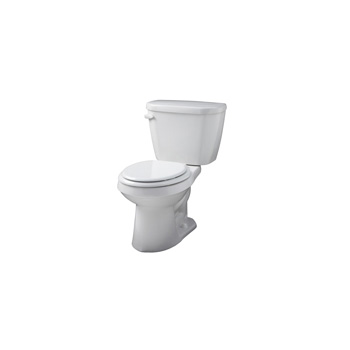 gerber ws 21 500 viper round front two piece toilet white. Black Bedroom Furniture Sets. Home Design Ideas